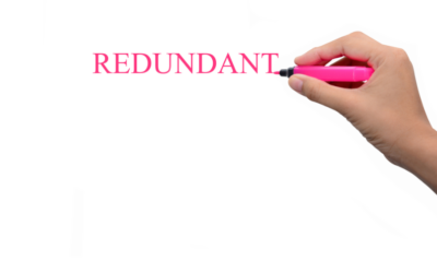 Face Redundancy?  Do the Work to Get the Work you Want.
